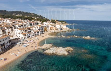 Paisajes Verticales – Fotografía aérea – PROMOCIÓN TURÍSTICA (Calella de Palafrugell)