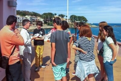 Taller de dron para jóvenes en Palafrugell