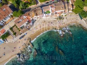 Paisajes Verticales - Fotografía aérea - PROMOCIÓN TURÍSTICA (Calella de Palafrugell, Costa Brava)