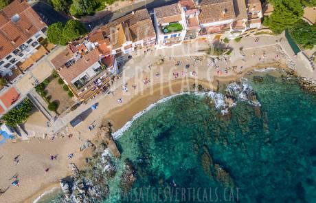 Paisajes Verticales - Fotografía aérea - PROMOCIÓN TURÍSTICA (Calella de Palafrugell)