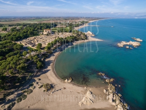 Vertical Landscapes - Aerial Photography – HISTORICAL HERITAGE (Empúries)