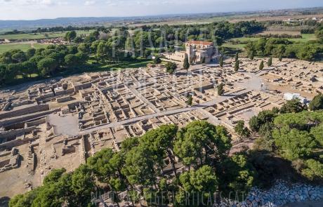 Paisajes Verticales – Fotografía aérea – PATRIMONIO HISTÓRICO (Empúries)