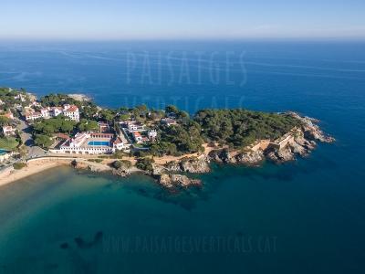 Paisajes Verticales – Fotografía aérea – PROMOCIÓN TURÍSTICA (Hotel en S'Agaró)