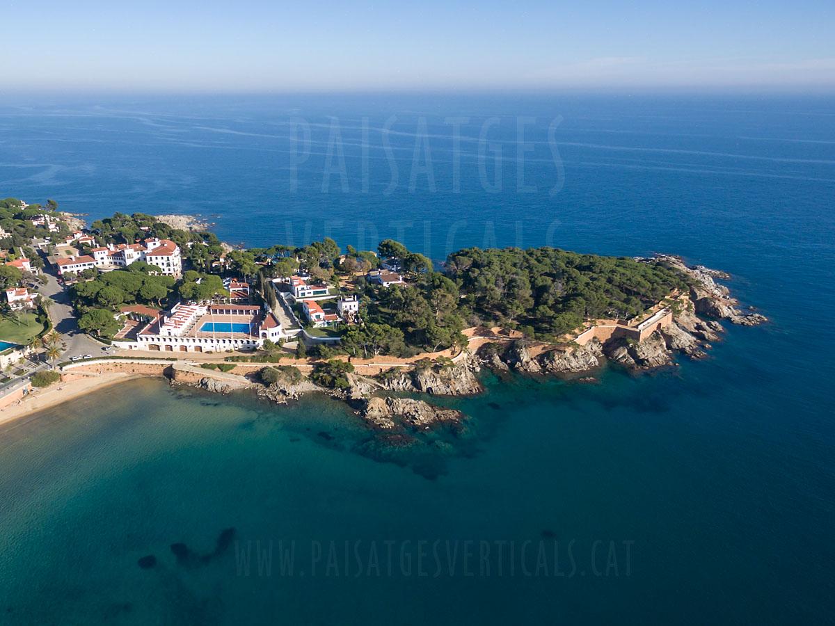 Paisatges Verticals - Fotografia aèria - PROMOCIÓ TURÍSTICA (Hotel a S'Agaró)