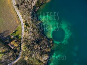 Vertical Landscapes - Aerial Photography - AGRICULTURE AND ENVIRONMENT (Banyoles)