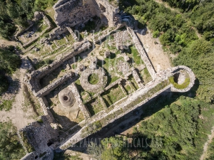 Vertical Landscapes - Aerial Photography - HISTORICAL HERITAGE (Sant Iscle)