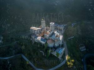 Vertical Landscapes - Aerial Photography - HISTORICAL HERITAGE (Sant Pere de Rodes)