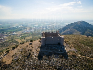 Vertical Landscapes - Aerial Photography - HISTORICAL HERITAGE (Castell de Montgrí)