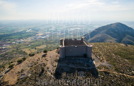 Paisajes Verticales - Fotografía aérea - PATRIMONIO HISTÓRICO (Castell de Montgrí)