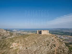 Vertical Landscapes - Aerial Photography - HISTORICAL HERITAGE (Castell del Montgrí)